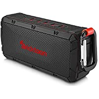 Bricktoon V3 Portable 4.0 Bluetooth 10W Wireless Speaker - FM Stereo - Enhance Bass - Micro SD Card Slot – IPX6 Waterproof 10 hrs Playback - Outdoor/ Indoor Durability - Hands Free Speakerphone Mic