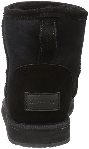 Snow Laura Outdoor Boots 10 Black Women's Black Shepherd wtq54x