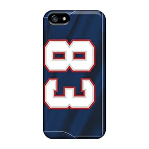 Abrahamcc Iphone 5/5s Hybrid Tpu Case Cover Silicon Bumper New England Patriots
