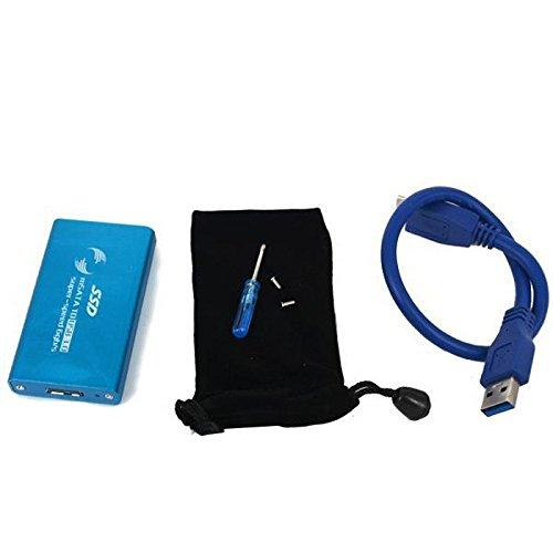 good mSATA to USB 3 0 External SSD Hard Driver Enclosure Box