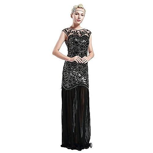 1920s dress plus size evening