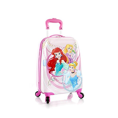 Heys Disney Princess Spinner Suitcase - Carry On Luggage