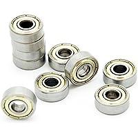 10 rodamientos de bolas radiales Protastic 606ZZZ6 x