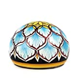DERUTA PAPERWEIGHT: Large traditional round Penne design