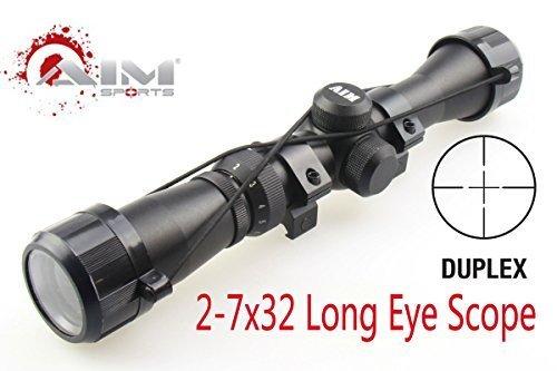Prosupplies @ Ziel sportsr Mosin Nagant 2–7 x 32 lang Augenabstand Scope für Mosin Nagant 1891 30 M39 von prosupplies