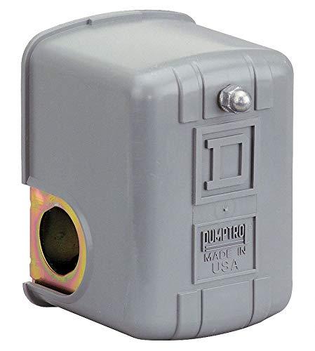 Port 1 Port Type: Square D Air Compressor Pressure Switch; Range: 40 to 150 psi 1//4 MNPT