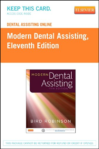 Dental Assisting Online for Modern Dental Assisting (Access Code), 11e by Saunders