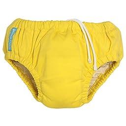 Charlie Banana Swim Diaper (Small 11-18 lbs, Yellow)