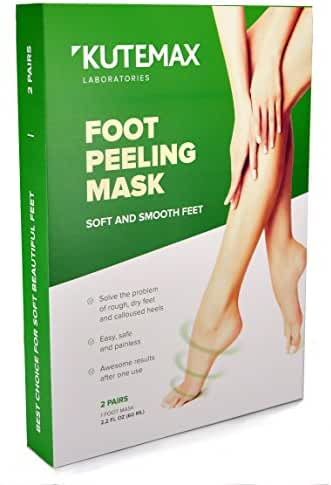 Foot Peel Mask - Callus and Dead Skin Exfoliation - 2 Pairs of Peeling Socks – Make Your Feet Irresistible
