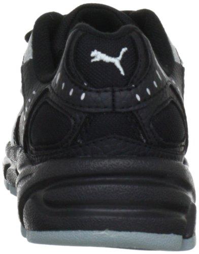 Puma Xenon Trainer V Jr - Zapatillas de gimnasia infantil Negro (Black-White-)