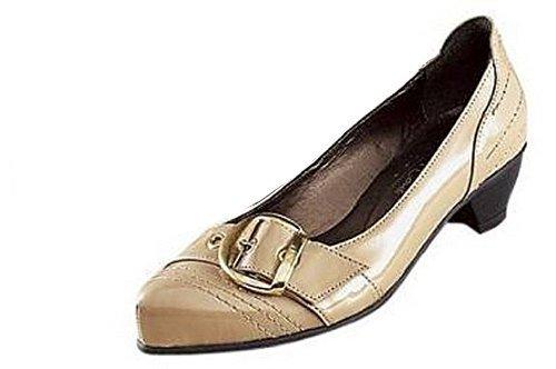 Andrea Conti Pumps schlamm - Zapatos de Vestir de material sintético Mujer marrón - Marron - Schlamm