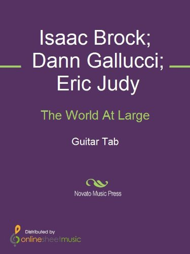 The World At Large by [Dann Gallucci, Eric Judy, Isaac Brock, Modest Mouse]