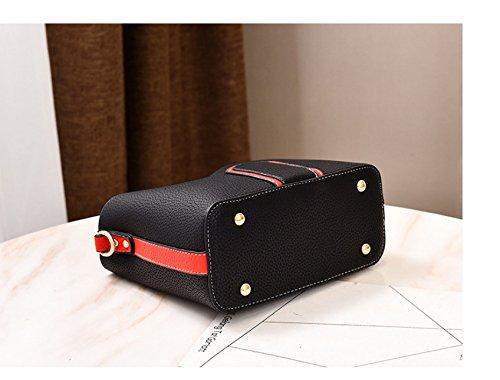 Main Gueules De Bandoulière Black GWQGZ Casual Grande Nouvelles Mode De Unique Dames La Sacs À À Sac De Capacité Épaule Uq0Bxq4w