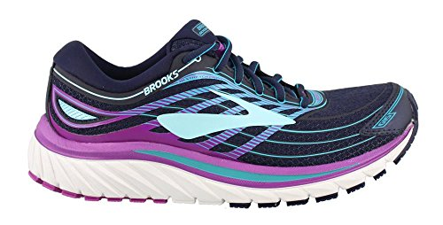 Brooks Damen Glycerin 15 Gymnastikschuhe Evening Blue/Purple Cactus Flower/Teal Victory
