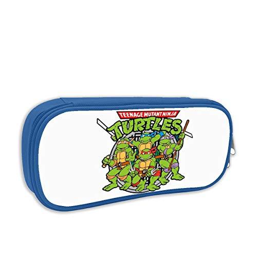 HSUASAI Mutant Ninja Turtles Pencil Case Pen Bag Pouch Stationary Case for School Work Office