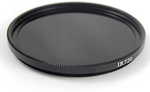 Filtro Infrarrojos Universal vhbw 40.5mm 720nm para Objetivo de ...
