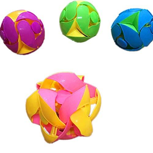 JAGENIE新しい変換マジックボール屋外スポーツのおもちゃが変更された色ボールマジックToyChristmas新年ギフト、1 PC、ランダム配信の商品画像