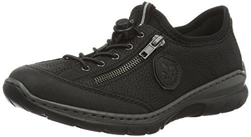 Rieker Dames L.low Schoenen Zwart Zwart