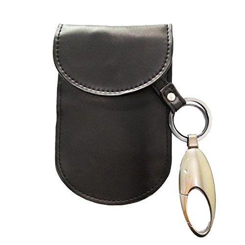 Car Key Signal Blocker, Colisivan Antitheft Car Key FOB Pouch Case Signal Shield Bag RFID Key Security Protector Defend WIFI/GSM/LTE/NFC/RF