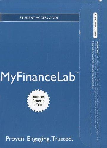 Corporate Finance MyFinanceLab Access Code: The Core: Includes Pearson Etext (MyFinanceLab (Access Codes))