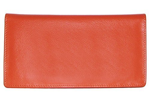 (ili New York 7406 Leather Checkbook Cover)