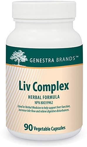 Genestra Brands - Liv Complex - Liver Support Supplement* - 90 Capsules