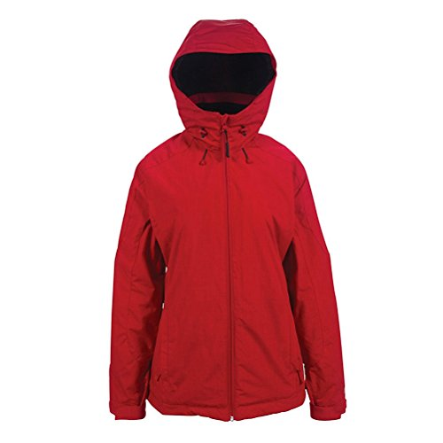 (PWDR Room Women's Phantom Jacket, Spicy Red, Large)