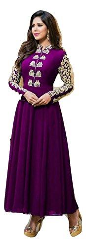 Purple Salwar - 9