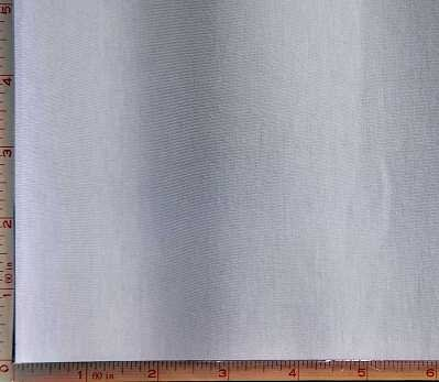 Lycra Stretch Ring - White Jersey Fabric 4 Way Stretch Carded Ring Spun, KPRS Cotton Spandex Lycra 10 Oz 58-60
