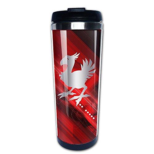 Stainless Steel Chocobo Final Fantasy Platinum Style Tumbler Coffee Mug