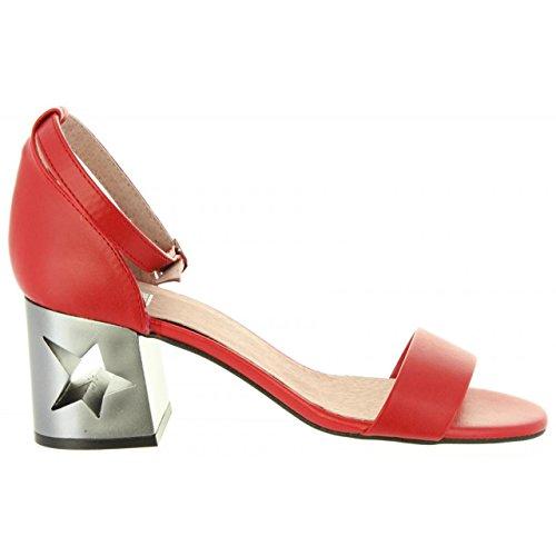 50719 Rojo De Mujer Mtng Golden Sandalias C17853 tPYq77
