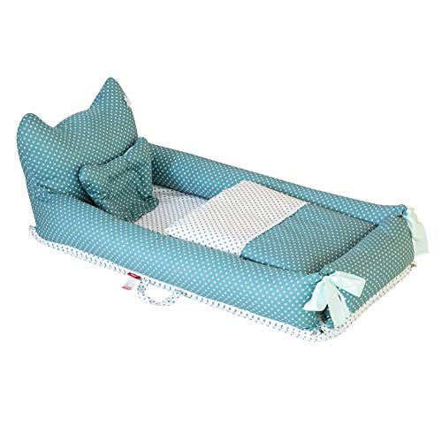 Baby Nest Bassinet Lounger for Bed Weixinbuy Fold Travel Baby Sleep Bed Cotton Removable Cover Breathable Portable Crib for Infants Toddler Newborn Baby