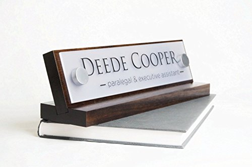 Personalized Desk Name Plate – makes a great Co-Worker Gift For Sale