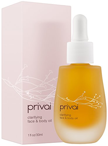 Privai - Clarifying Face & Body Oil, Natural Skin Hydration, 30ml / 1oz