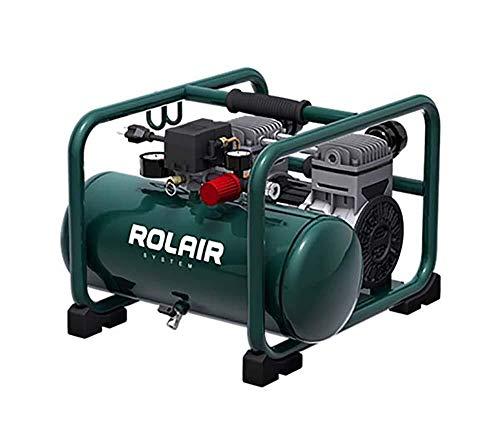 Rolair Hand Carry Portable 2HP Air Compressor Rolair JC20 Super Quiet 70dB 115 Volt
