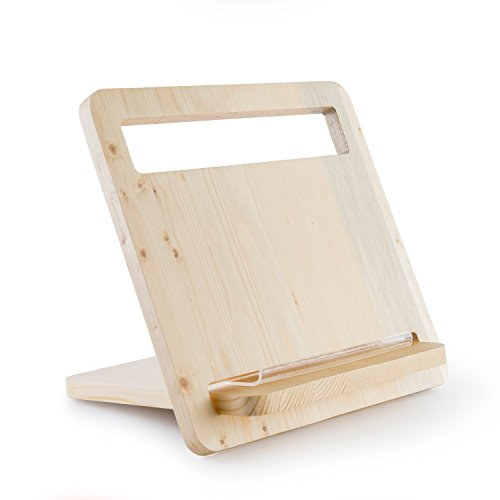 Adjustable Wood Stand Holder for Laptop Notebook MacBook Devices Phone Tablet iPad Pro Computer Accessary by WOODING STUDIO