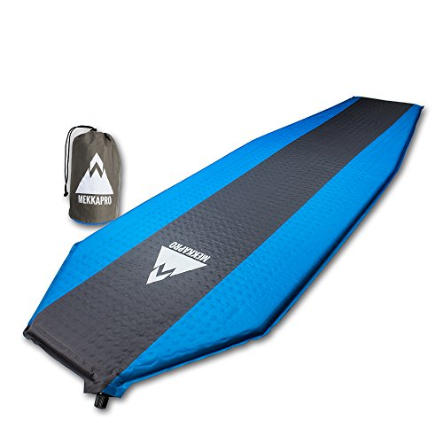 Ultra Lightweight Compression Self Inflating Sleeping Pad Foam Padding, Camping Mat with Superior Insulation, Hiking Camping and Backpacking