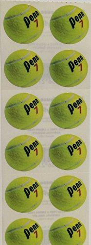 (Tennis Balls Stickers - 6 Sheets)