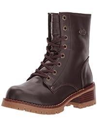 Lugz Women's Tamar Red-Brown/Gum boots 5.5 M