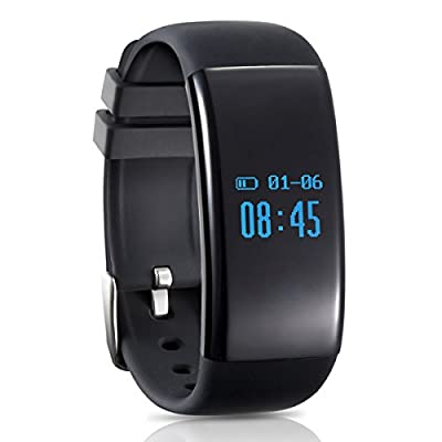 Longess Smart Watch, Bluetooth 4.0 Water resistance Pedometer Fitness Tracker, Sleep Monitor compatible with Android and IOS Smartphones