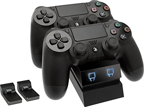 Venom Twin Sony Docking Station - Dual Charging for PS4 Controller/ Gamepad - PlayStation 4