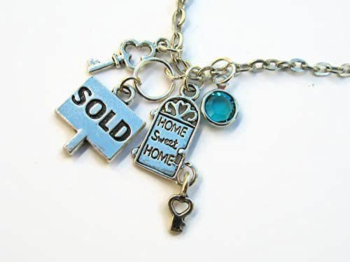 realtor necklace housewarming jewelry