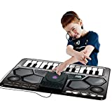 Homesave Mat Electronic Music Style Playmat with Microphone 9070cm