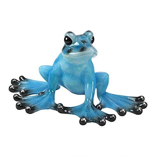 design-toscano-tropical-blue-frog-statue