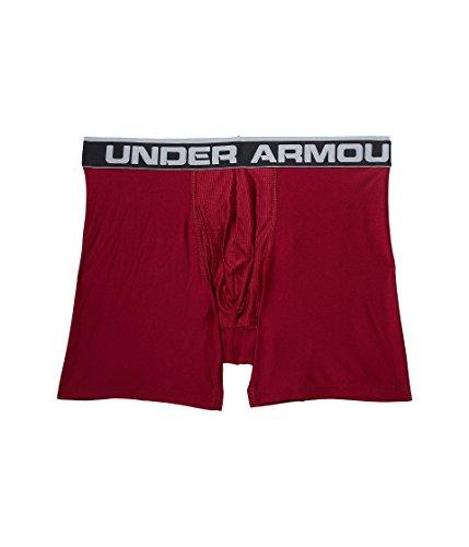 Under Armour Men's The Original 6'' Boxerjock,Black Currant/Carbon Heather, Medium - 923 Heather