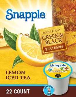 Snapple Lemon Iced Tea K-Cups by Snapple