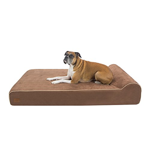Lux by FrontPet Orthopedic Dog Bed / Premium Memory Foam Dog Bed With Removable Microfiber Machine Washable Slipcover- XXL by FrontPet