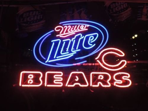 Bears Neon Signs Chicago Bears Neon Sign Bears Neon Sign