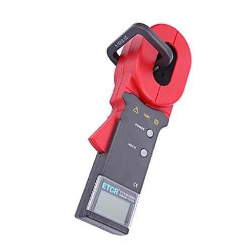 Digital meter- Digital Clamp Meter for Measuring Earth Resistance and Leakage Current ETCR2000, Amp Ohm Volt Meter: DIY & Tools