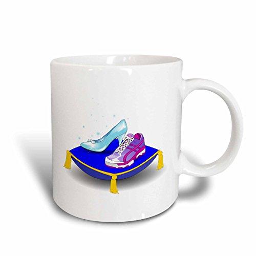 3dRose mug 161510 1 Running Princess 11 Ounce